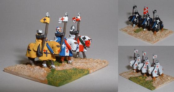 Crusader Knights with Lance (TC19)