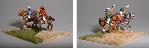 Arab Light Cavalry (left TC1, right TC2)
