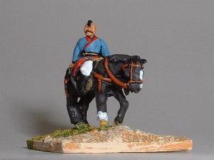 Mongol Light Cavalry holding sabre (TC30)