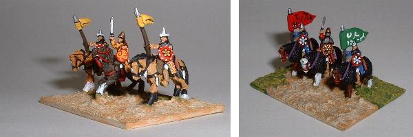 Arab Heavy Cavalry (left TC3 TC5, right TC6 TC5)
