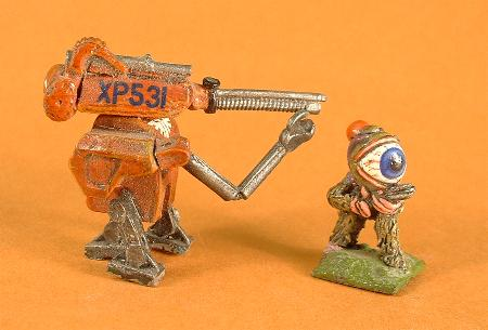5SF12Battle Droid, 5SF11 Alien reconnaissance mercenary