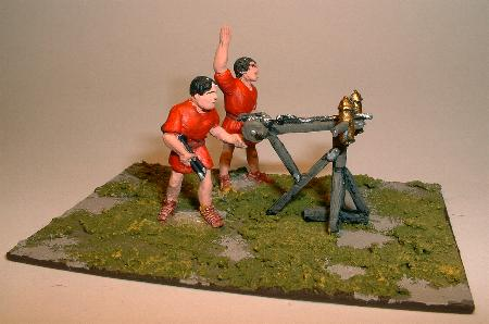 Artillerists (25/36) with Ballista light bolt-shooter (25/38)