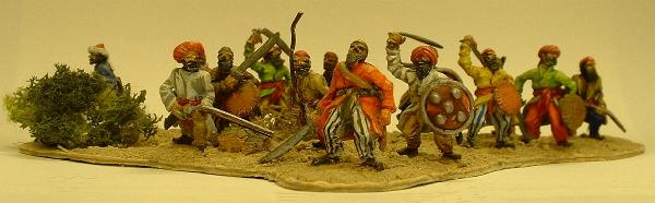Afghan/Pathan tribesmen (COL5 and COL6 variants)