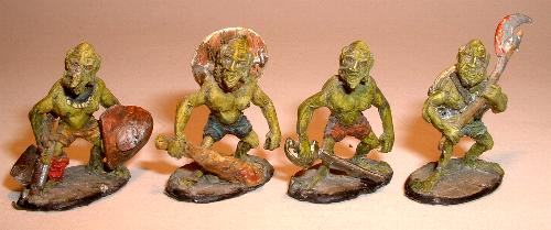 F14 Four assorted unarmoured goblins