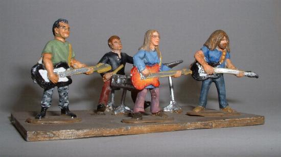 4 Piece Pop Group 'The Sherpas' (P63)