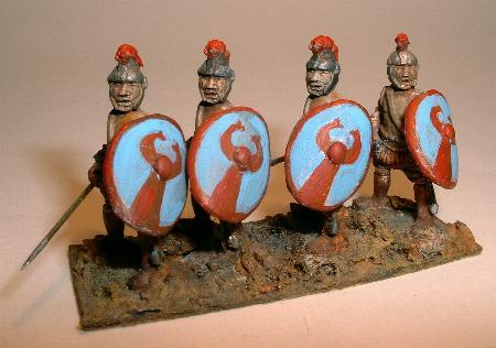 SB25 Belisarian skutatoi javelinmen