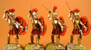 LG1 Early Greek Hoplite attacking