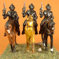 LRE16 3/4 Plate Cuirassier cavalry with pistol