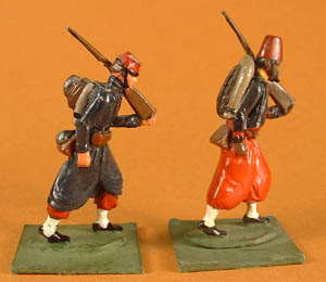 LWF 16 Infantry Marching, LWF 2 Zouave Marching