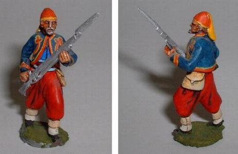 LWAC9 Zouave Infantry advancing