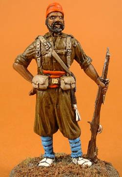 Moorish Infantry standing