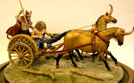 Ancient British/Celtic Chariot