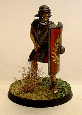 Roman Legionary advancing
