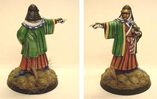 Samurai Lord pointing