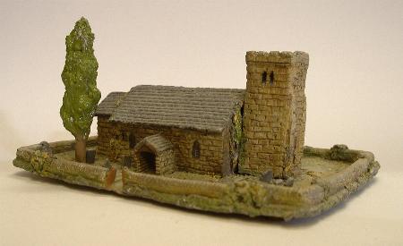 Church from the European Village set