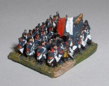 FN11 French Line Infantry (four rank block)