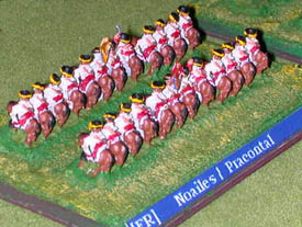 LoA Cavalry figures painted as French Horse.