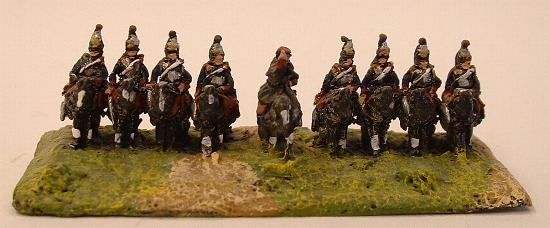 FFP1 French Cuirassiers, FFP19 Mounted ADC