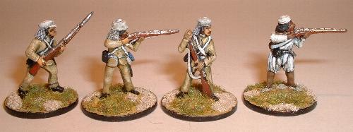 British Infantry (NIM1, NIM2, NIM3) and Mutineer (NIM8)