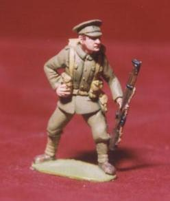 Early British Infantry loading