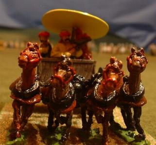 Han general four-horse chariot (Y12a)