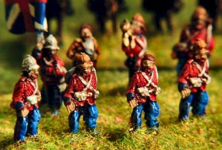 FZ9 British Infantry marching