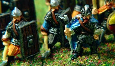 Rus Heavy Axeman (V11), Viking/Saxon Officer (V5)