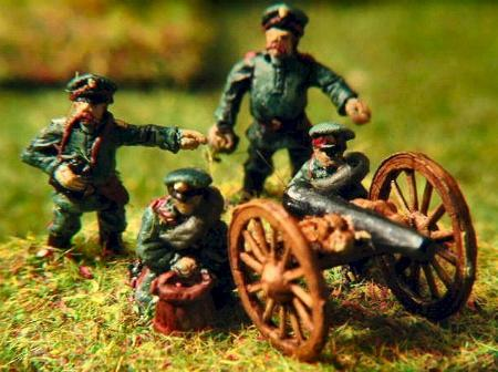 FZ66 Russian Artillery and four crew