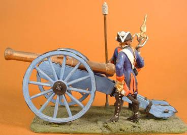 Prussian Gun plus two crew