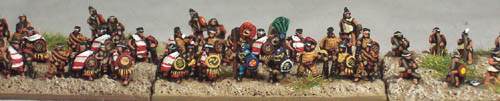 CM3 Jaguar Knights & CM20 Tlaxcalan (Spanish ally) infantry