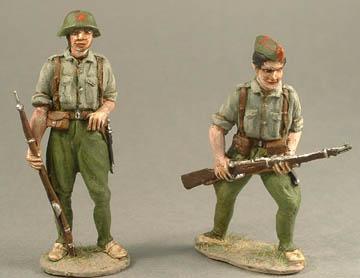 Regular Infantry Standing & Regular Infantry