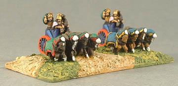 B13 Assyrian four horse heavy chariot