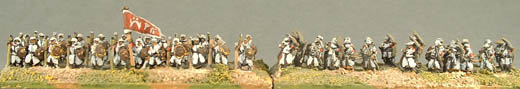 DA7 Arab/Turkish Ghazis, IND18 Infantry Archers