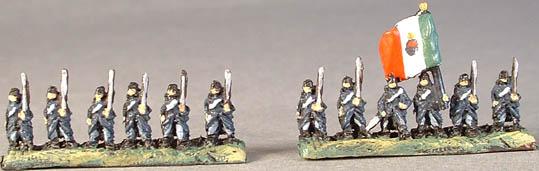 GAR3 Piedmontese Infantry, GAR4 Piedmontese Infantry Command