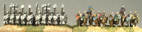 ME1 Mounted Knights, ME11 11th Century mounted knights