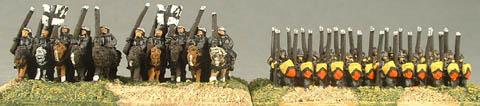 ME2 Hobilars, ME5 Spearmen