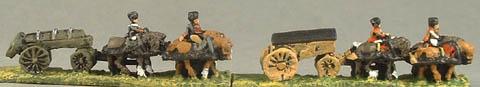 MN2 French Caisson, MN3 Ammunition Wagon