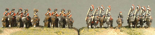 PFP4 Prussian Hussars, FFP3 French Lancers