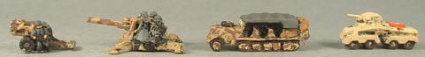 WWTG73 Nebelwerfer and crew, WWTG70 88mm and crew, WWTG51 SdKfz 7 half track, WWTG48 SdKfz 232 A/c