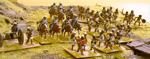 Shot of Naser Rassool's Indian Mutiny collection