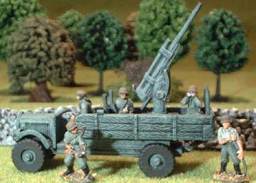 NWGP2 Lorry with AA Gun