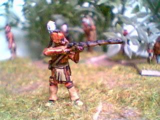 NIW2 Mohican standing firing