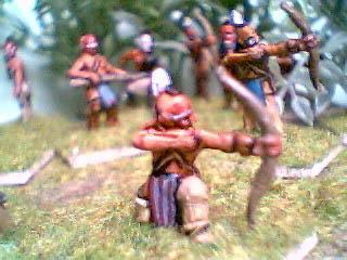 NIW33 Mohican kneeling firing bow