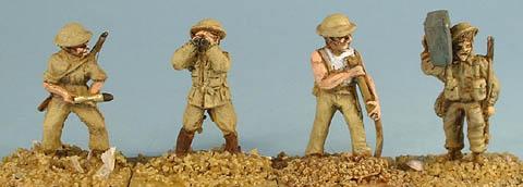 World War II British Gun Crew