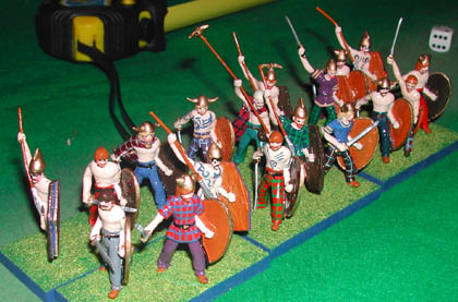 RAP6 Celtic/German/Dacian Infantry Javelin Man, RAP7 Celtic/German/Dacian Infantry Swordsman