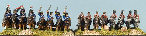 CWB10 & CWB9 (again) and CWB11 British Heavy Dragoon Cavalry, CWB12 Scots Greys Cavalry