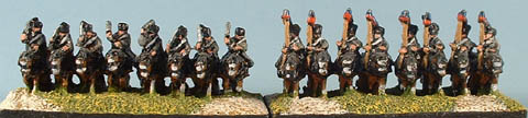 CWR11 Russian Hussar Cavalry, CWR12 Russian Lancer Cavalry