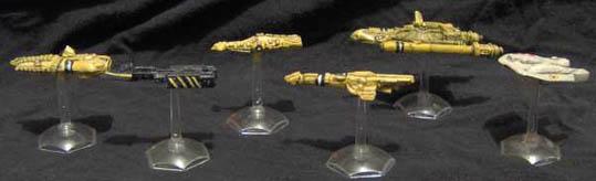 SA1-5 Alien Ships