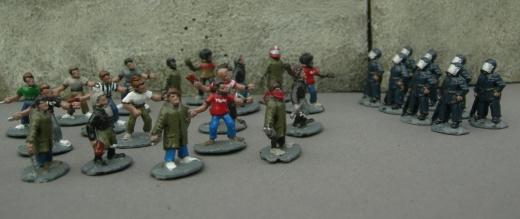 Lutter contre la guérilla urbaine 15mmriot