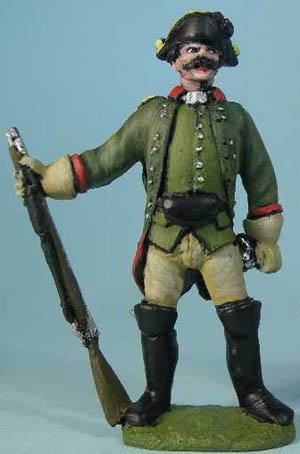 Prussian Jäger standing